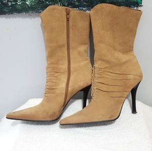 Aldo Suede Cowboy cowgirl pointed boots